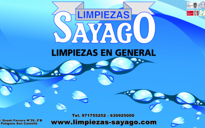 LIMPIEZAS SAYAGO CHANGES ITS ADDRESS