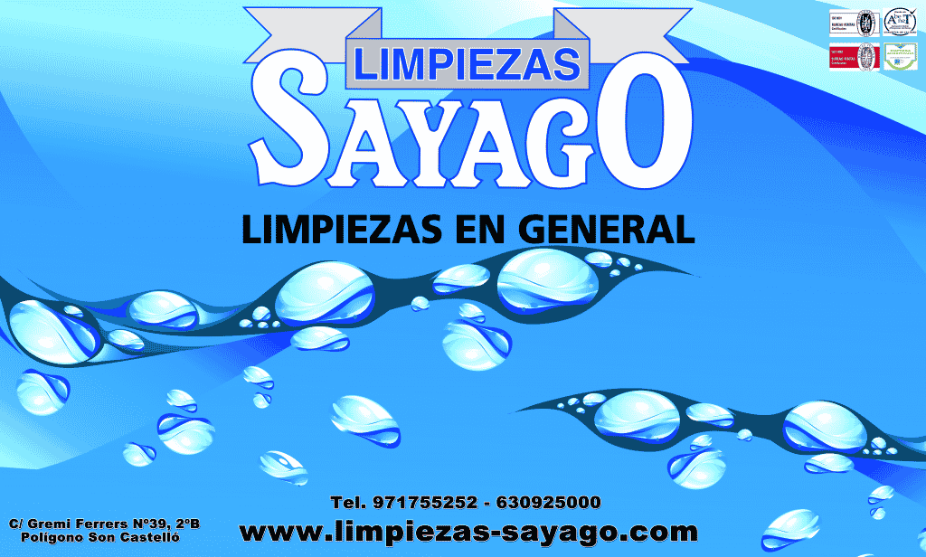 LIMPIEZAS SAYAGO CHANGES ITS DOMICILIO