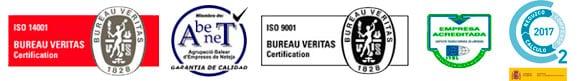 Certificaciones de Limpiezas Sayago Mallorcca