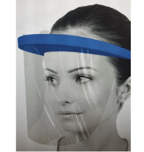 mascara protectora de plástico